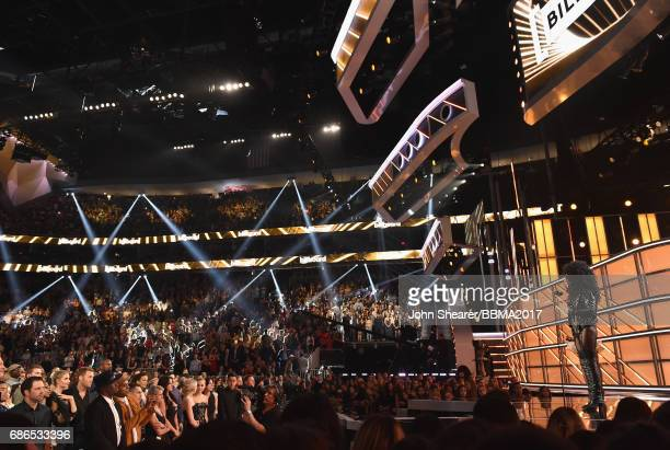 Singer Cher accepts the Billboard Icon Award onstage during the 2017 Billboard Music Awards at TMobile Arena on May 21 2017 in Las Vegas Nevada