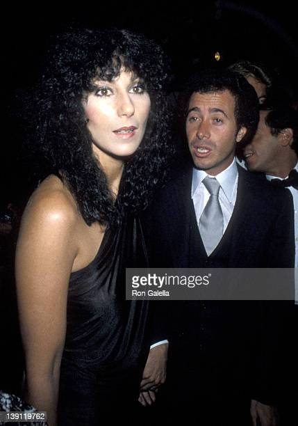 Singer Cher and producer David Geffen attend Yves Saint Laurent's 'Opium' Perfume Launch Party on September 20 1978 aboard The Peking South Street...