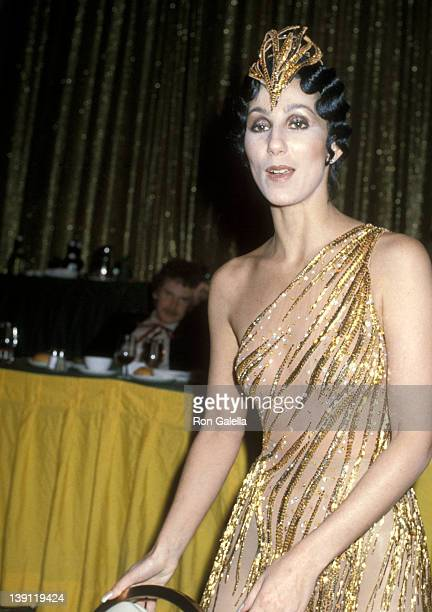 Singer Cher attends the Billboard Magazine's 1979 Disco Convention on February 28, 1979 at the New York Hilton Hotel in New York City.