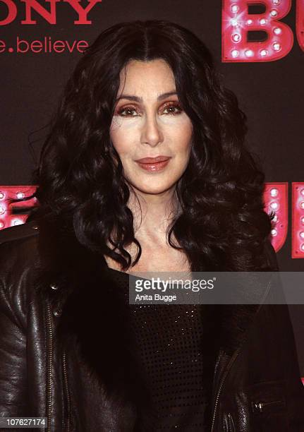 Singer Cher attends the 'Burlesque' photocall at Hotel Adlon on December 16 2010 in Berlin Germany