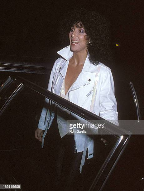 Singer Cher attends Toto in Concert on February 9 1979 at The Roxy Theatre in West Hollywood California