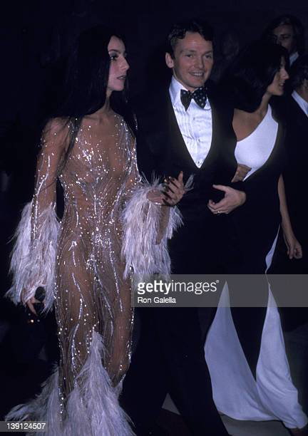 Singer Cher, fashion designer Bob Mackie and Cher's friend Paulette Betts attend The Metropolitan Museum of Art's Costume Insitute Gala Exhibition...