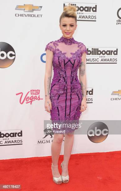 Singer Cher Lloyd arrives at the 2014 Billboard Music Awards at the MGM Grand Hotel and Casino on May 18 2014 in Las Vegas Nevada