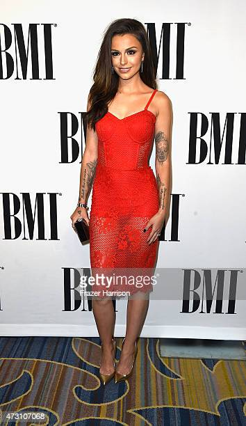 Singer Cher Lloyd arrives at the 63rd Annual BMI Pop Awards at Regent Beverly Wilshire Hotel on May 12 2015 in Beverly Hills California