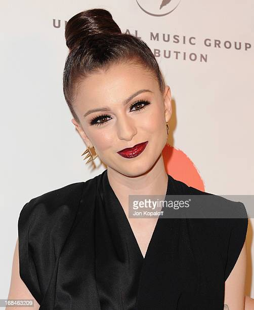 Singer Cher Lloyd arrives at the NARM Music Biz 2013 Awards Dinner Party at the Hyatt Regency Century Plaza on May 9 2013 in Century City California
