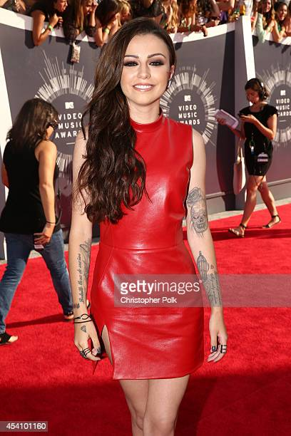 Singer Cher Lloyd attends the 2014 MTV Video Music Awards at The Forum on August 24 2014 in Inglewood California