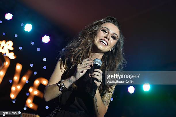 Singer Cher Lloyd performs at The Grove's Summer Concert Series held at The Grove on July 27 2016 in Los Angeles California