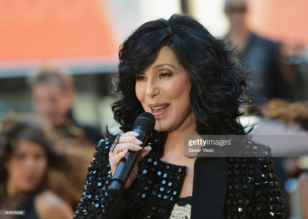 Cher Performs On NBC's 'Today' : News Photo