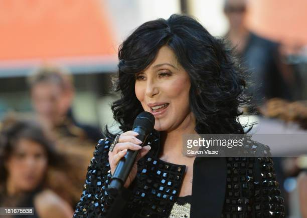Singer Cher peforms on NBC's Today at NBC's TODAY Show on September 23 2013 in New York City