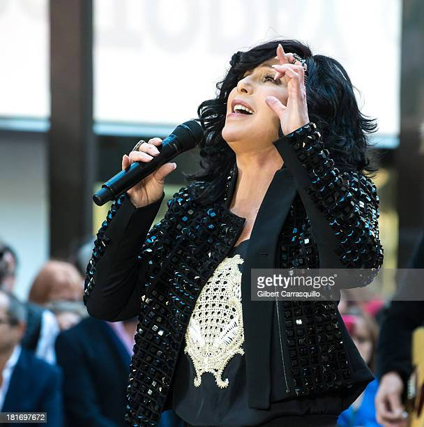 Singer Cher peforms on NBC's 'Today' Show on September 23 2013 in New York City