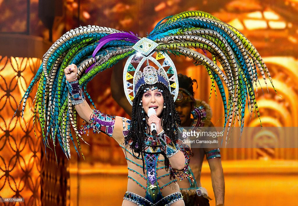Cher In Concert - Philadelphia, PA : News Photo