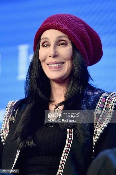 Singer Cher speaks onstage during 2016 Milken Institute Global Conference at The Beverly Hilton on May 03 2016 in Beverly Hills California