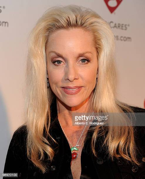 Singer Cherie Currie arrives at the 6th Annual MusiCares MAP Fund Benefit Concert at Club Nokia on May 7 2010 in Los Angeles California