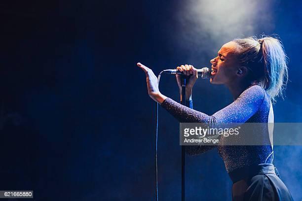 Singer Cherie Jones of JONES performs at O2 Academy Leeds on November 1, 2016 in Leeds, England.