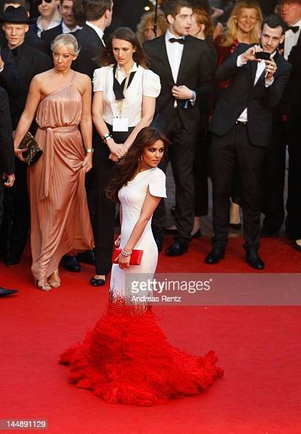 """Singer Cheryl Cole attend the """"Amour"""" Premiere during the 65th Annual Cannes Film Festival at Palais des Festivals on May 20, 2012 in Cannes, France."""