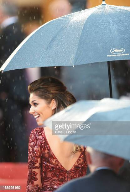 Singer Cheryl Cole attends the 'Jimmy P ' Premiere during the 66th Annual Cannes Film Festival at the Palais des Festivals on May 18 2013 in Cannes...