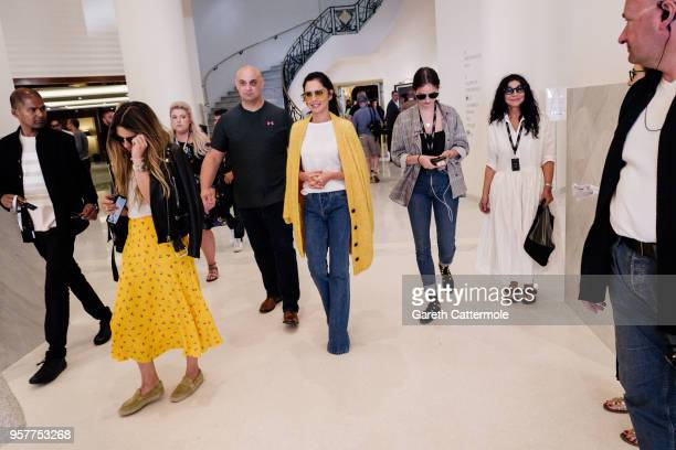 Singer Cheryl departs the Martinez Hotel during the 71st annual Cannes Film Festival at on May 12 2018 in Cannes France