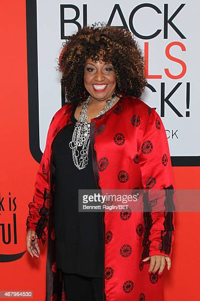 Singer Cheryl Lynn attends the BET's Black Girls Rock Red Carpet sponsored by Chevrolet at NJPAC – Prudential Hall on March 28 2015 in Newark New...