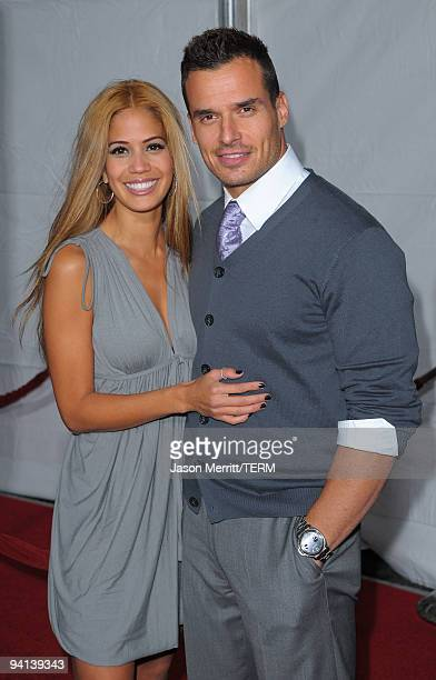 Singer Cheryl Moana Marie and actor Antonio Sabato Jr arrive at the premiere of Paramount Pictures' 'The Lovely Bones' at Grauman's Chinese Theatre...