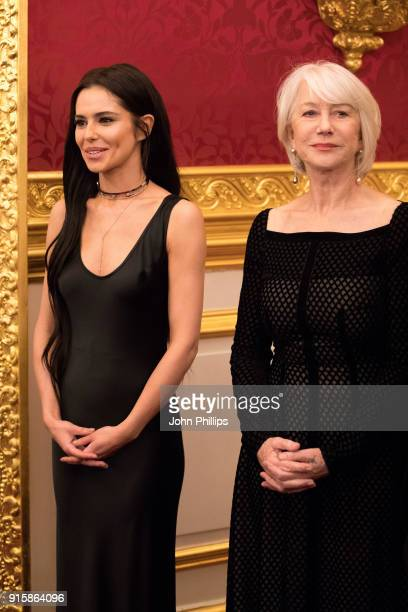 Singer Cheryl Tweedy and actress Dame Helen Mirren attend the Prince's Trust 'Invest in Futures' predinner reception celebrating the oneyear...