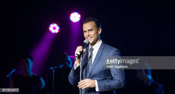 Singer Cheyenne Jackson attends the 'Musical Appreciation Of George Michael' at Highline Ballroom on April 24 2017 in New York City