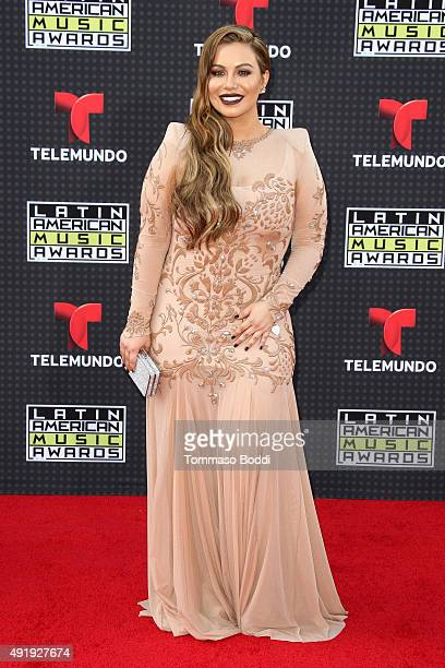 Singer Chiquis Rivera attends the Telemundo's Latin American Music Awards 2015 held at Dolby Theatre on October 8 2015 in Hollywood California