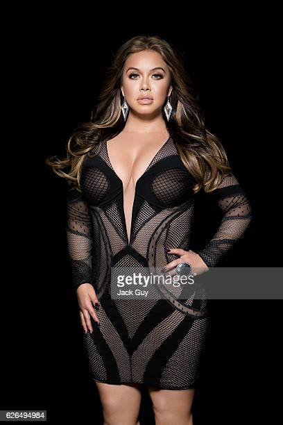 Singer Chiquis Rivera is photographed for Latina Magazine on January 9 2015 in Encino California COVER IMAGE
