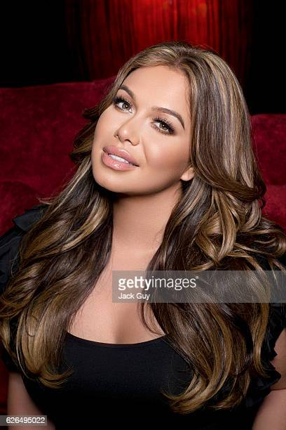 Singer Chiquis Rivera is photographed for Latina Magazine on January 9 2015 in Encino California PUBLISHED IMAGE
