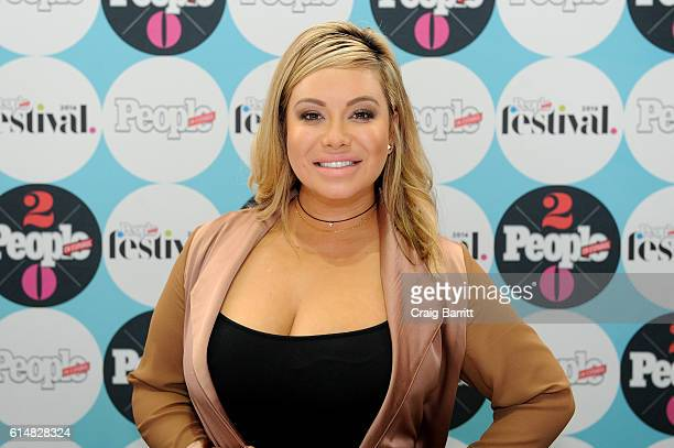 Singer Chiquis Rivera poses backstage during the 5th Annual Festival PEOPLE En Espanol, Day 1 at the Jacob Javitz Center on October 15, 2016 in New...