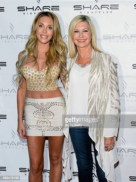 Singer Chloe Lattanzi and her mother singer/actress Olivia NewtonJohn celebrate the 35th anniversary of 'Xanadu' with the world premiere of their...