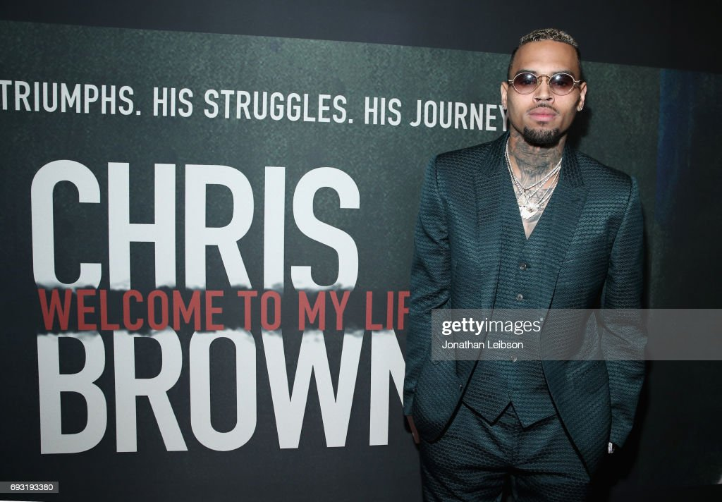 """Premiere Of Riveting Entertainment's """"Chris Brown: Welcome To My Life"""" At L.A. LIVE"""