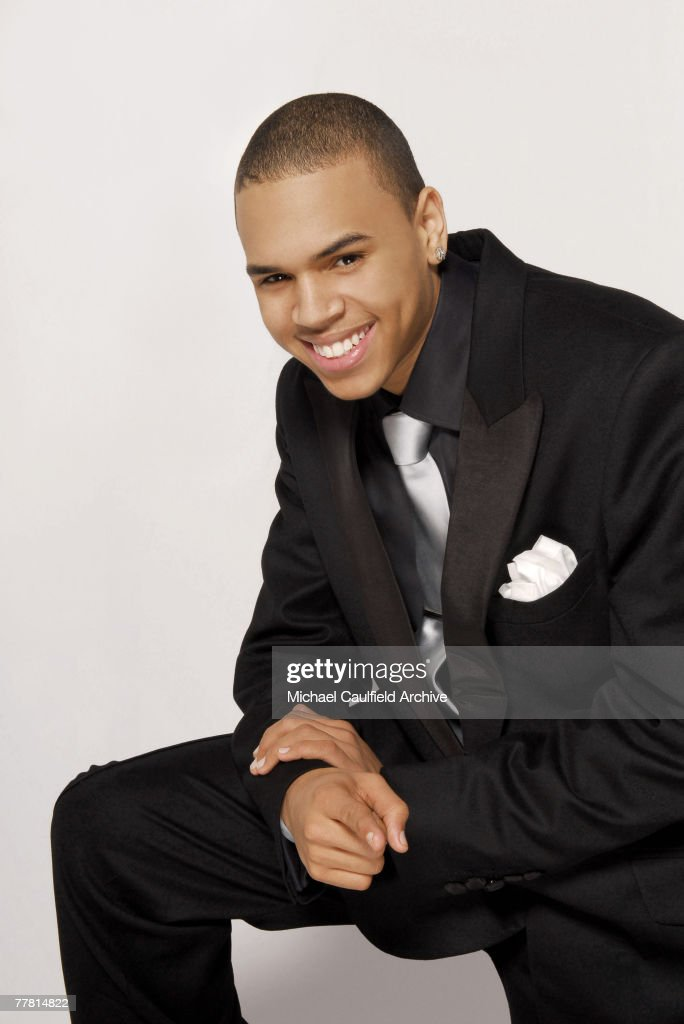 Chris Brown,  Self Assignment, February 25, 2006 : News Photo