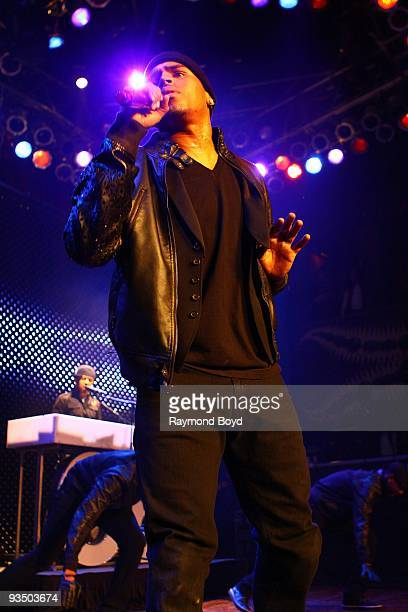 Singer Chris Brown performs at the House Of Blues in Chicago Illinois on November 26 2009