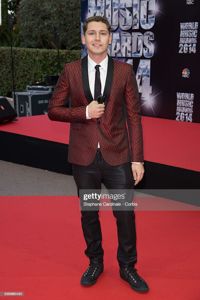 Singer Chris Cab arrives at the World Music Awards at Sporting Monte-Carlo on May 27, 2014 in Monte-Carlo, Monaco.
