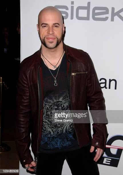 Singer Chris Daughtry attends the 2009 GRAMMY Salute To Industry Icons honoring Clive Davis at the Beverly Hilton Hotel on February 7 2009 in Beverly...