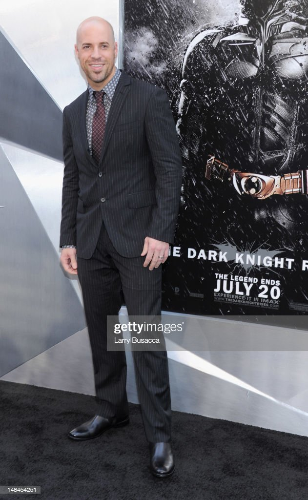Singer Chris Daughtry attends 'The Dark Knight Rises' premiere at AMC Lincoln Square Theater on July 16, 2012 in New York City.