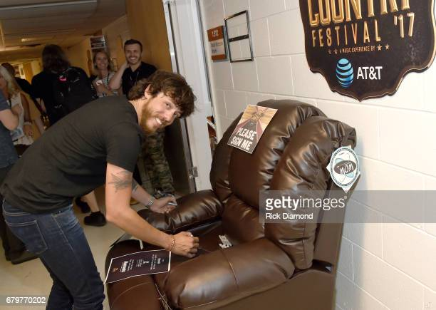 Singer Chris Janson attends the 2017 iHeartCountry Festival A Music Experience by ATT at The Frank Erwin Center on May 6 2017 in Austin Texas