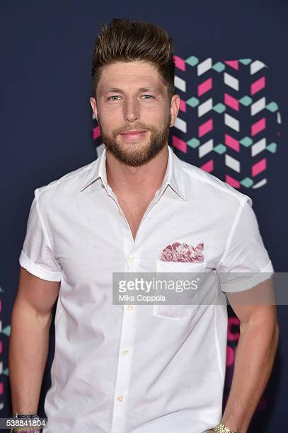 Singer Chris Lane attends the 2016 CMT Music awards at the Bridgestone Arena on June 8 2016 in Nashville Tennessee