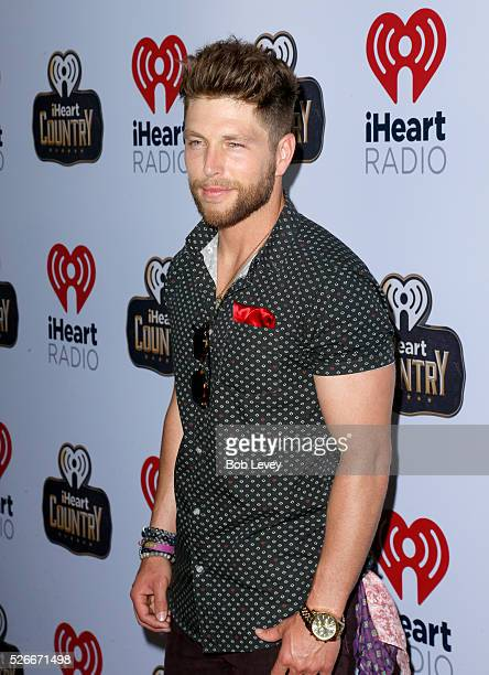 Singer Chris Lane attends the 2016 iHeartCountry Festival at The Frank Erwin Center on April 30 2016 in Austin Texas