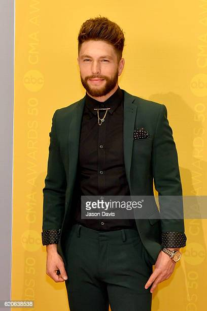 Singer Chris Lane attends the 50th annual CMA Awards at the Bridgestone Arena on November 2 2016 in Nashville Tennessee