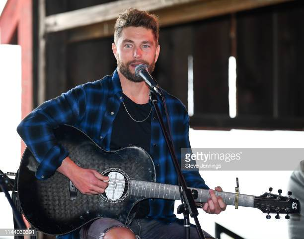 Singer Chris Lane performs at Live In The Vineyard Goes Country 2019 on May 14 2019 in Napa California