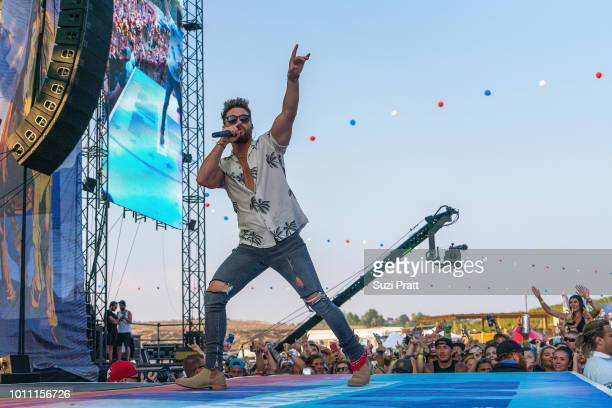 Singer Chris Lane performs at Watershed Festival at Gorge Amphitheatre on August 4 2018 in George Washington