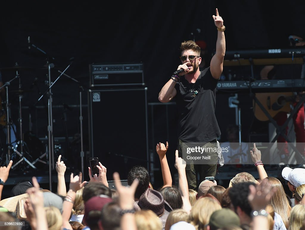 Live at the 2016 Daytime Village At The iHeartCountry Festival  - Show : News Photo