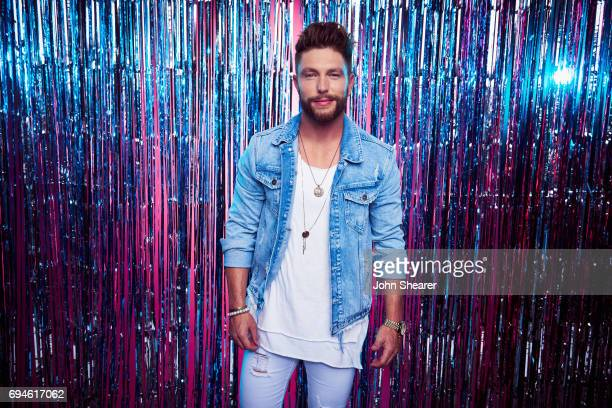 Singer Chris Lane poses for a portrait at Music City Convention Center on June 7 2017 in Nashville Tennessee