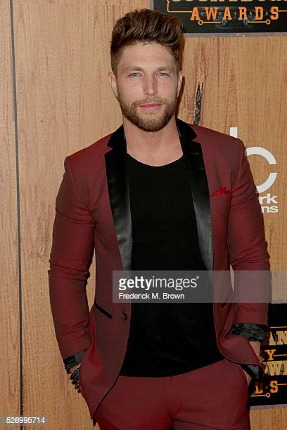 Singer Chris Lane poses in the press room during the 2016 American Country Countdown Awards at The Forum on May 1 2016 in Inglewood California