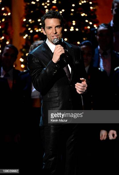 Singer Chris Mann performs onstage during TNT Christmas in Washington 2012 at National Building Museum on December 9 2012 in Washington DC...