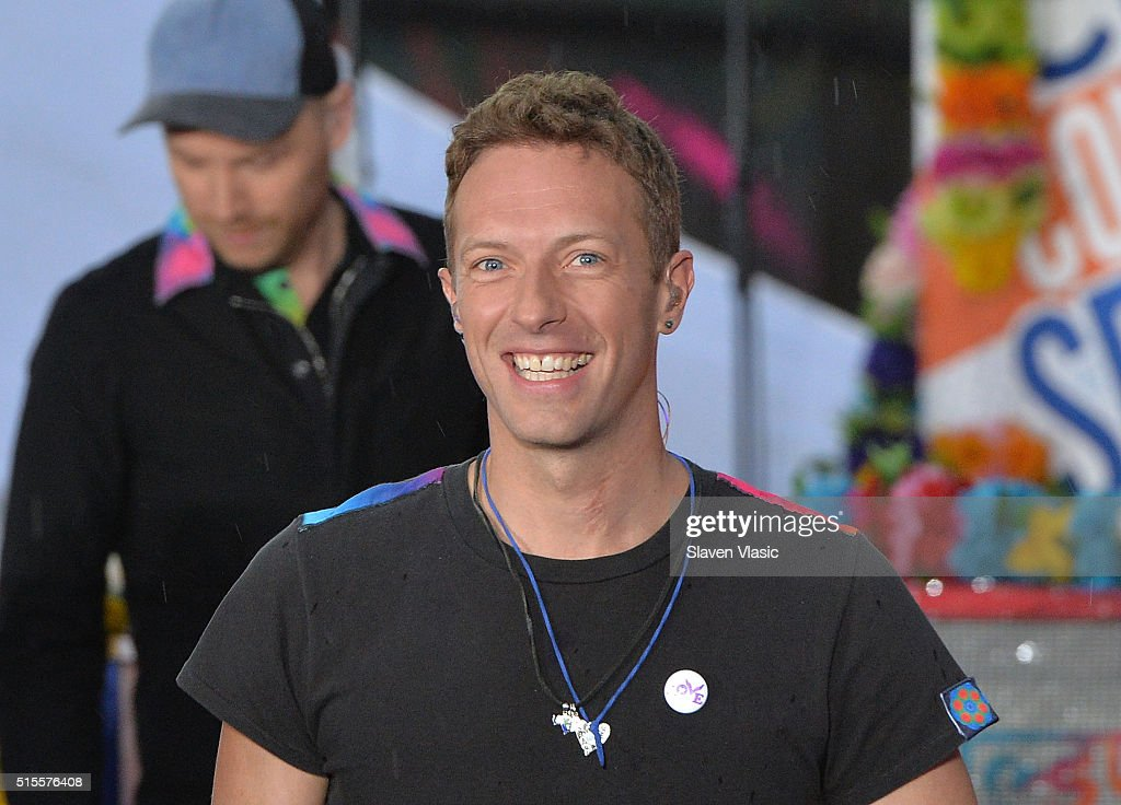 """Coldplay Performs On NBC's """"Today"""""""