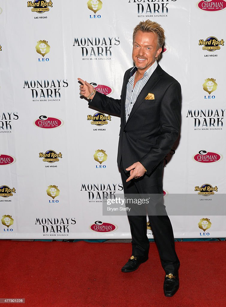 Singer Chris Phillips of Zowie Bowie attends Mondays Dark benefiting Orion Cancer Foundation at Vinyl inside the Hard Rock Hotel & Casino on June 15, 2015 in Las Vegas, Nevada.