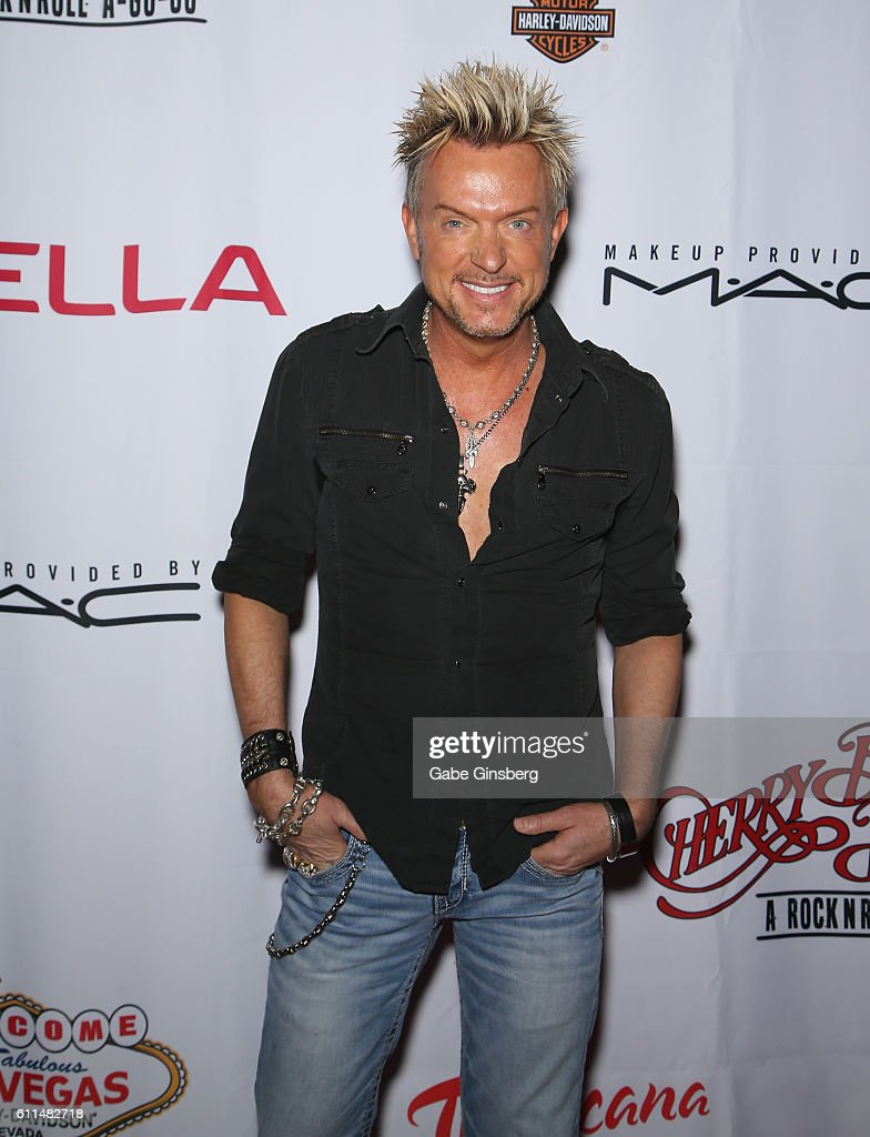 Singer Chris Phillips of Zowie Bowie attends the grand opening of 'Cherry Boom Boom' at the Tropicana Las Vegas on September 29, 2016 in Las Vegas, Nevada.