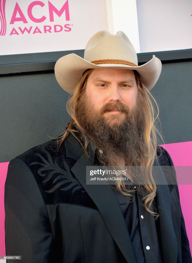 Singer Chris Stapleton attend the 52nd Academy Of Country Music Awards at T-Mobile Arena on April 2, 2017 in Las Vegas, Nevada.